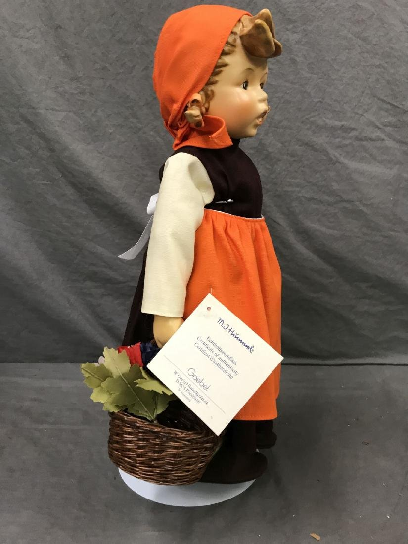 Hummel On Holiday Collector Doll. Cloth Body - 3