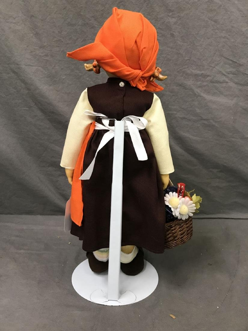 Hummel On Holiday Collector Doll. Cloth Body - 4