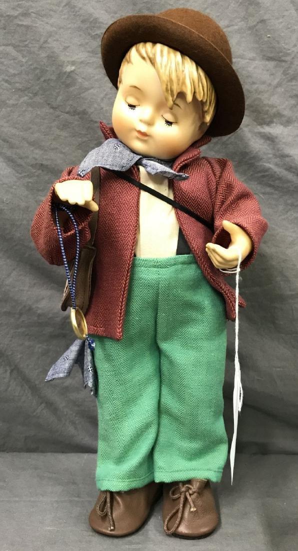 Hummel Little Fiddler Collector Doll. Cloth Body