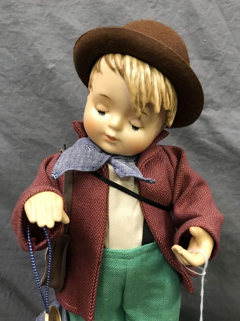 Hummel Little Fiddler Collector Doll. Cloth Body - 2