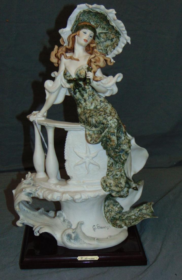 Armani Figurine. Lady with Umbrella.