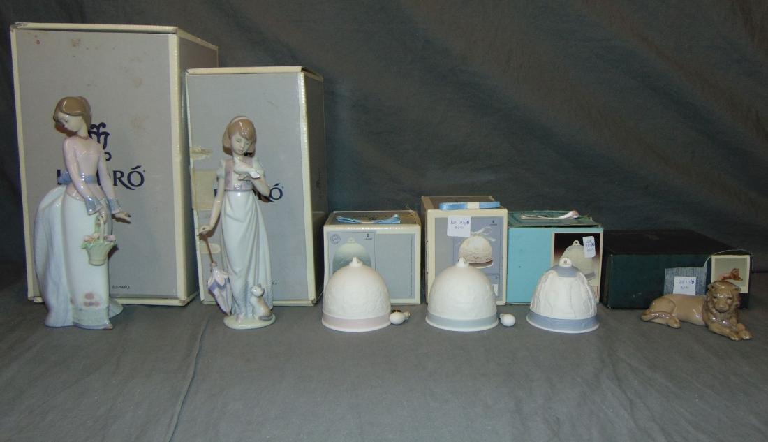 Porcelain Lladros. Lot of 6.
