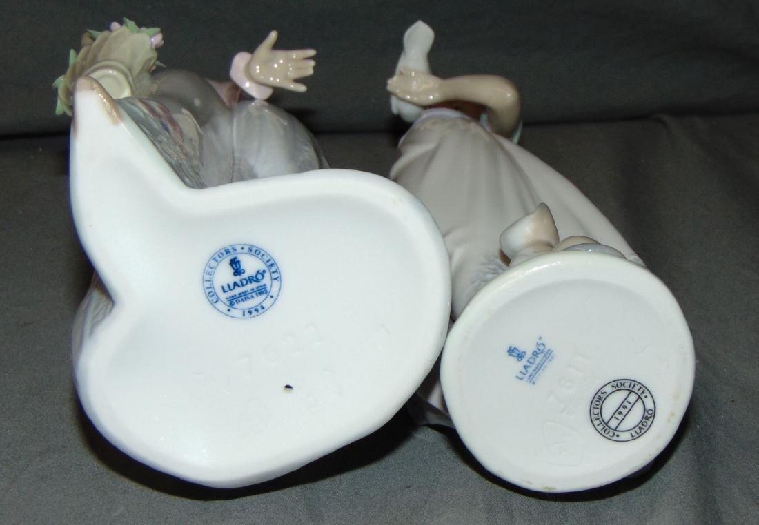 Porcelain Lladros. Lot of 6. - 5