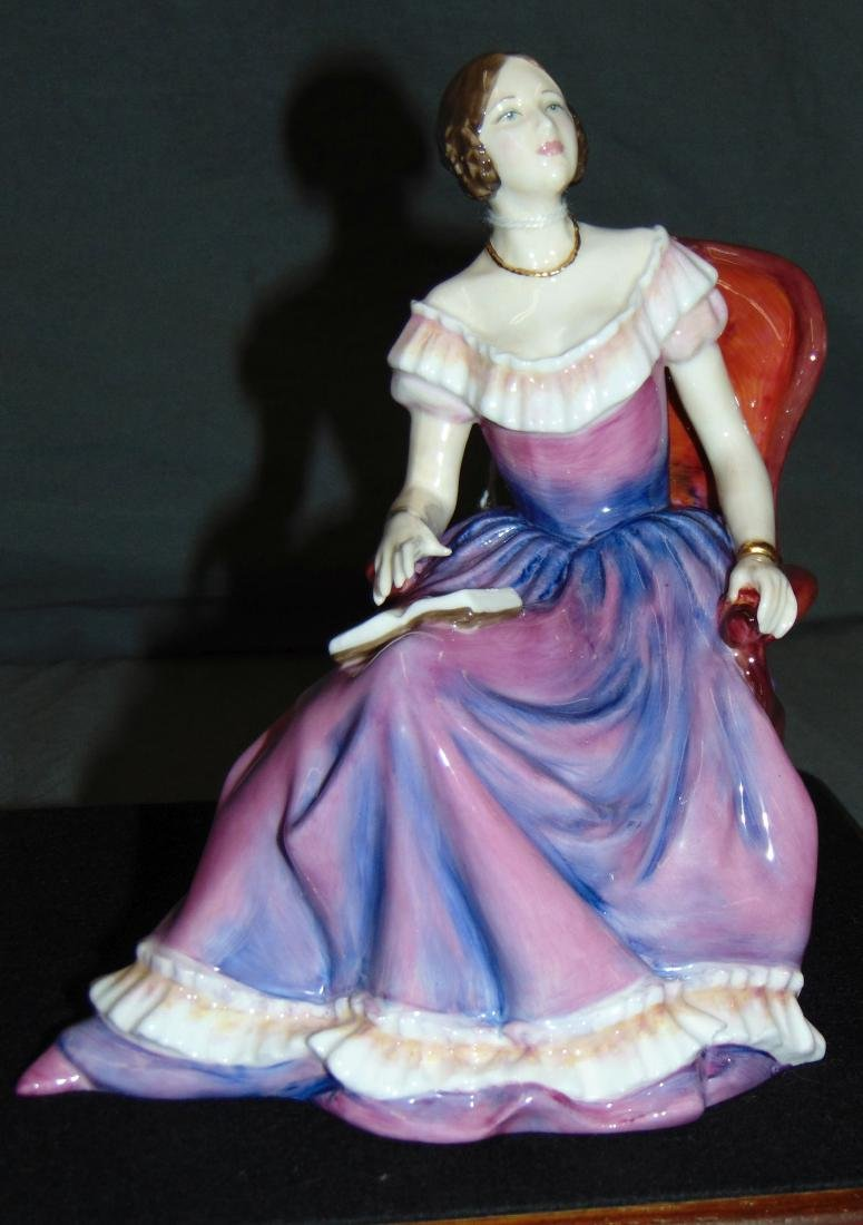 Royal Doulton Classics. Young Queen Victoria.
