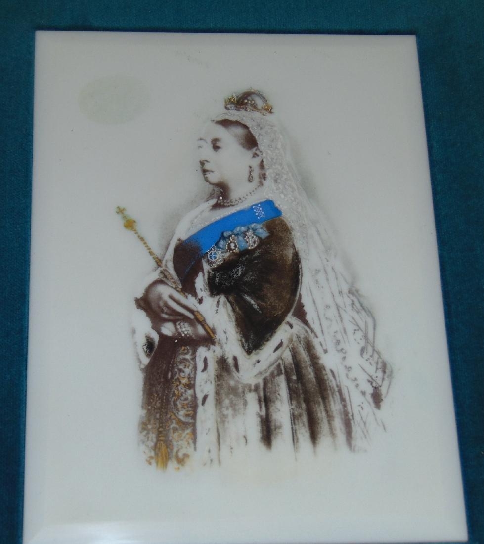 Queen Victoria Porcelain Plaque