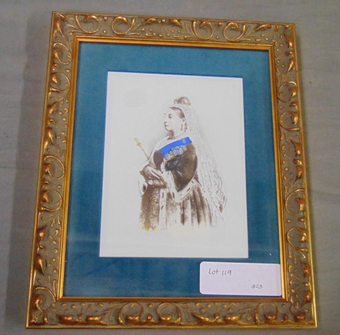 Queen Victoria Porcelain Plaque - 2