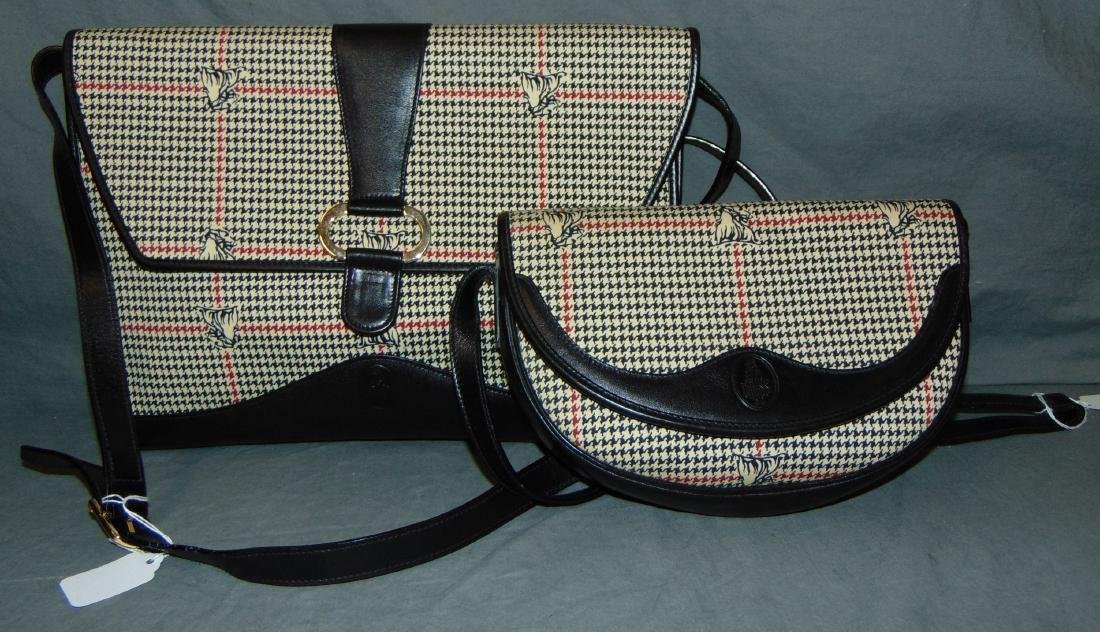 Mark Cross. Handbag and Brief Case.