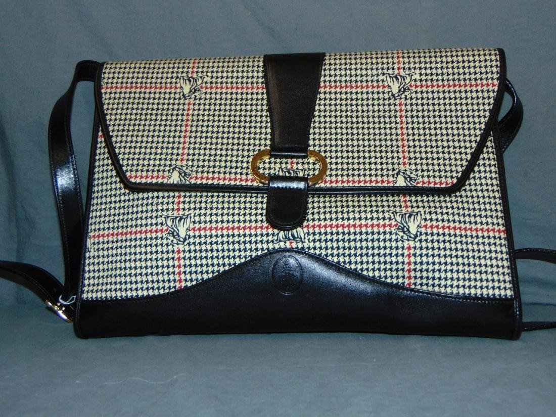 Mark Cross. Handbag and Brief Case. - 2