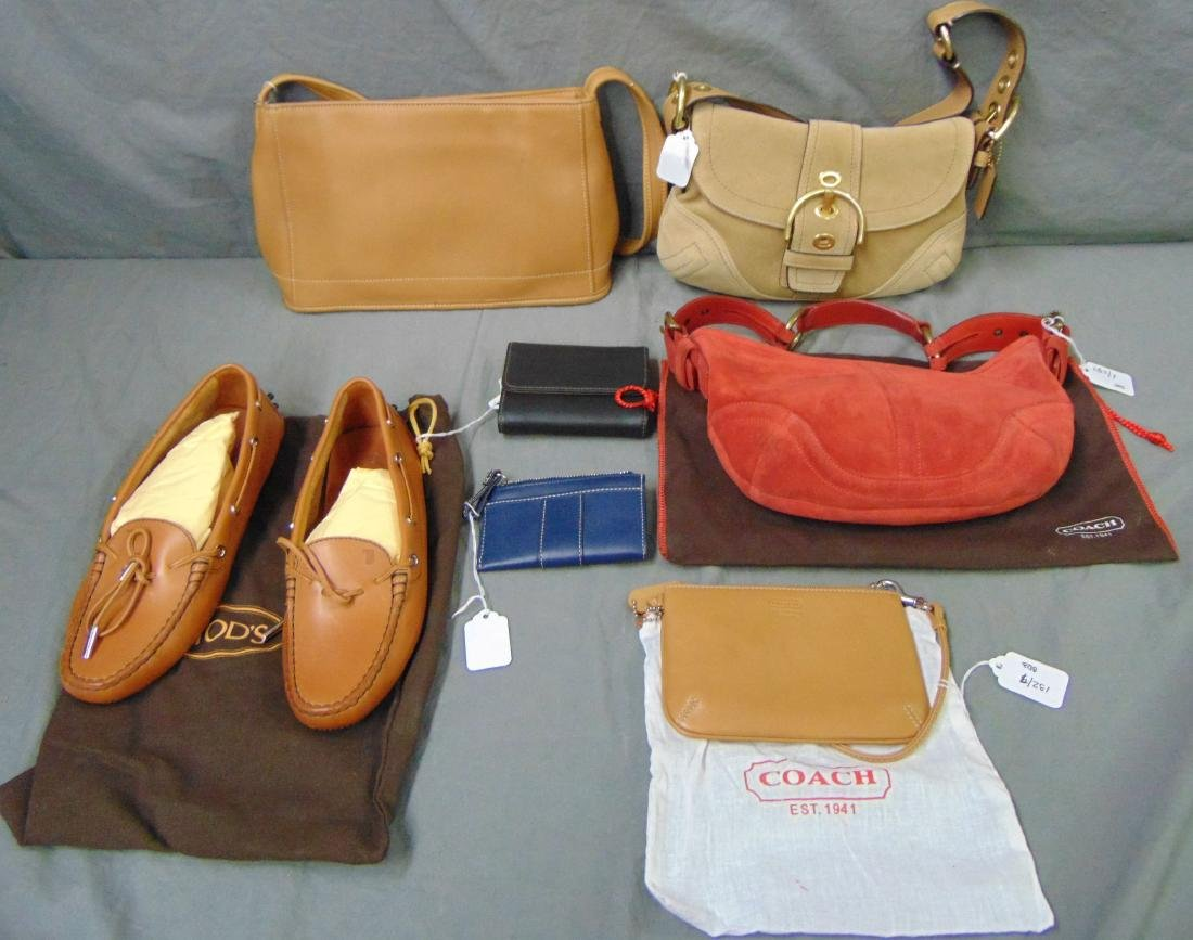 Coach Handbags, Wallets and Tod's Shoes