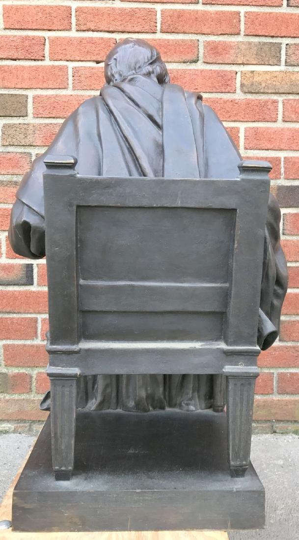 Jean Antoine Houdon, Bronze, Voltaire Sitting - 5