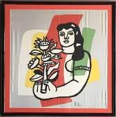 Fernand Leger, Silk Scarf Limited Ed 65/250