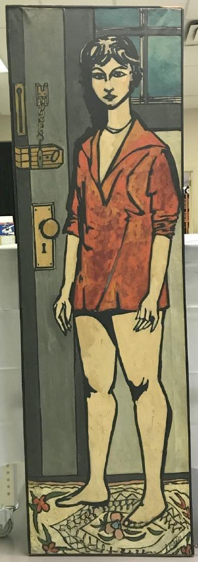 Len Nezin, Signed Oil on Canvas Painting