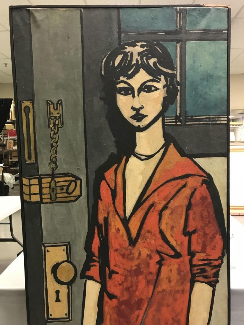 Len Nezin, Signed Oil on Canvas Painting - 2