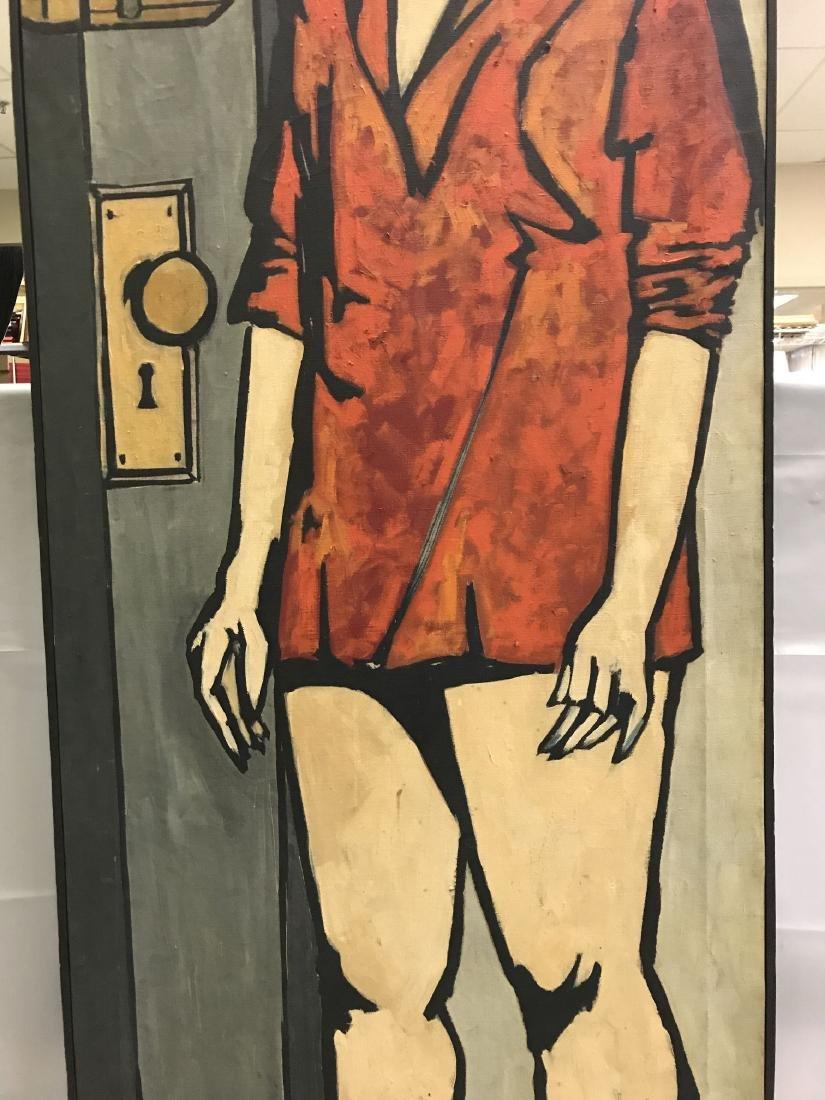 Len Nezin, Signed Oil on Canvas Painting - 3