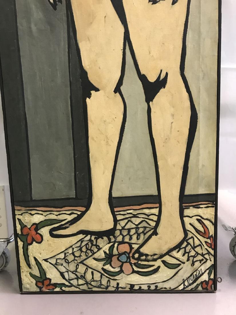Len Nezin, Signed Oil on Canvas Painting - 4