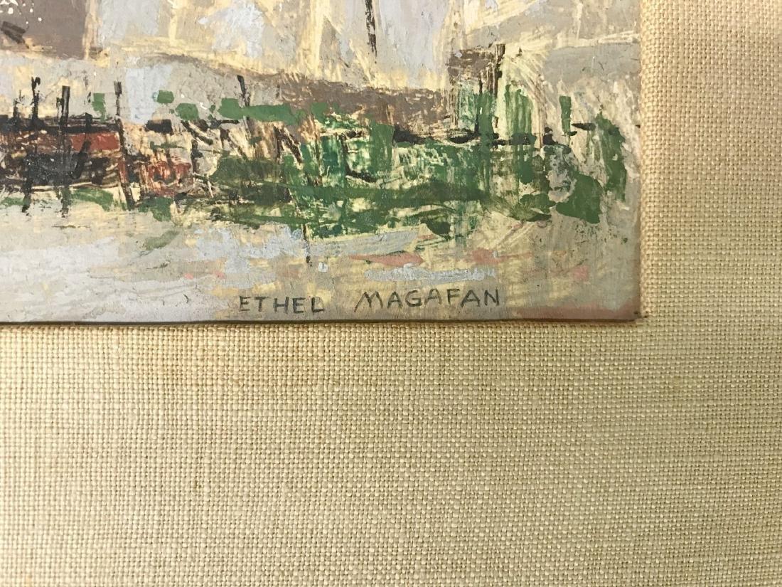 Ethel (Currie) Magafan (1916 - 1993) Oil on Board - 3