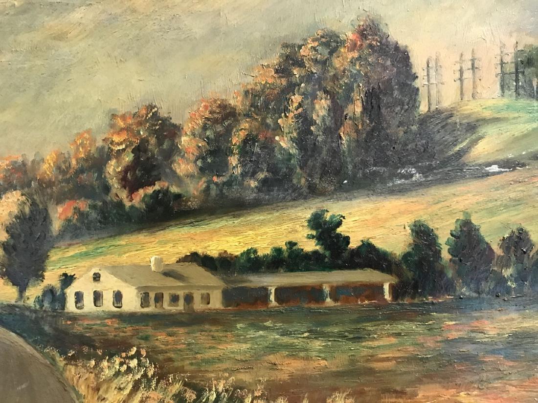 Oil on Board, Landscape, Signed H.P. Tark - 4