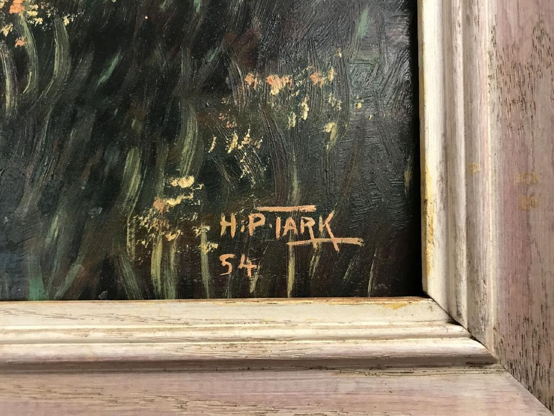 Oil on Board, Landscape, Signed H.P. Tark - 5