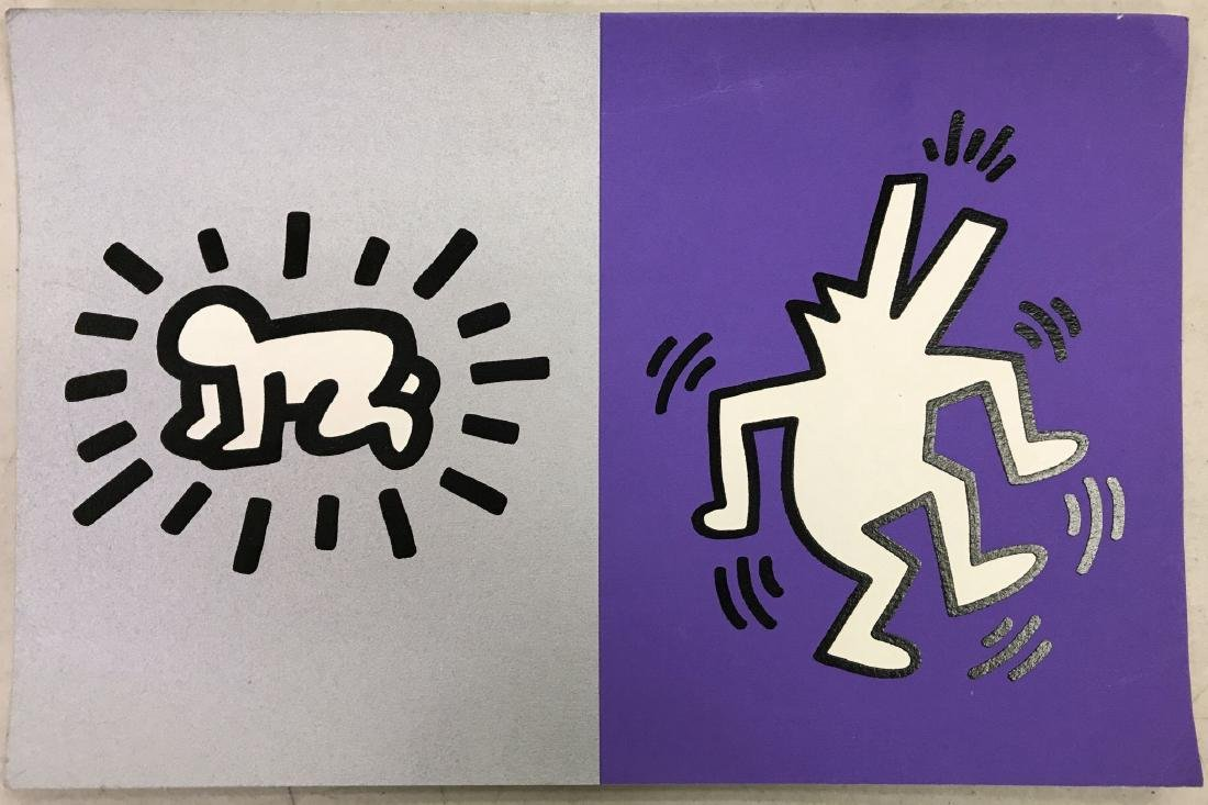 Keith Haring Memorial Tribute Invitation