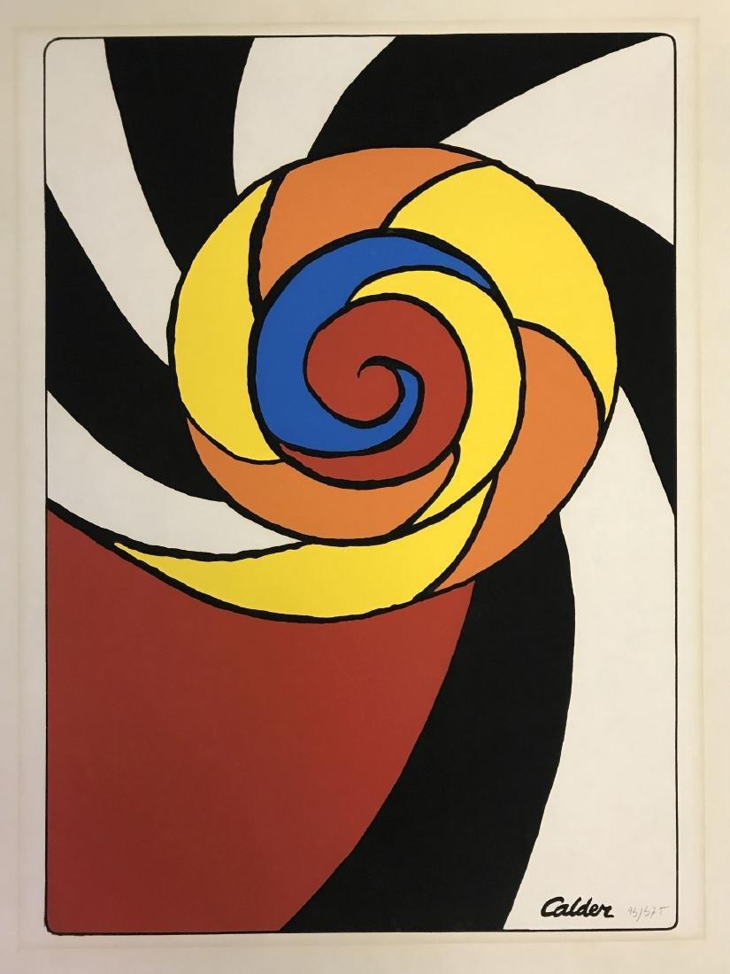 Alexander Calder, Limited Ed Spirals Print - 2