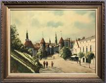 Alexander Nelke 1894  1974 Oil on Canvas