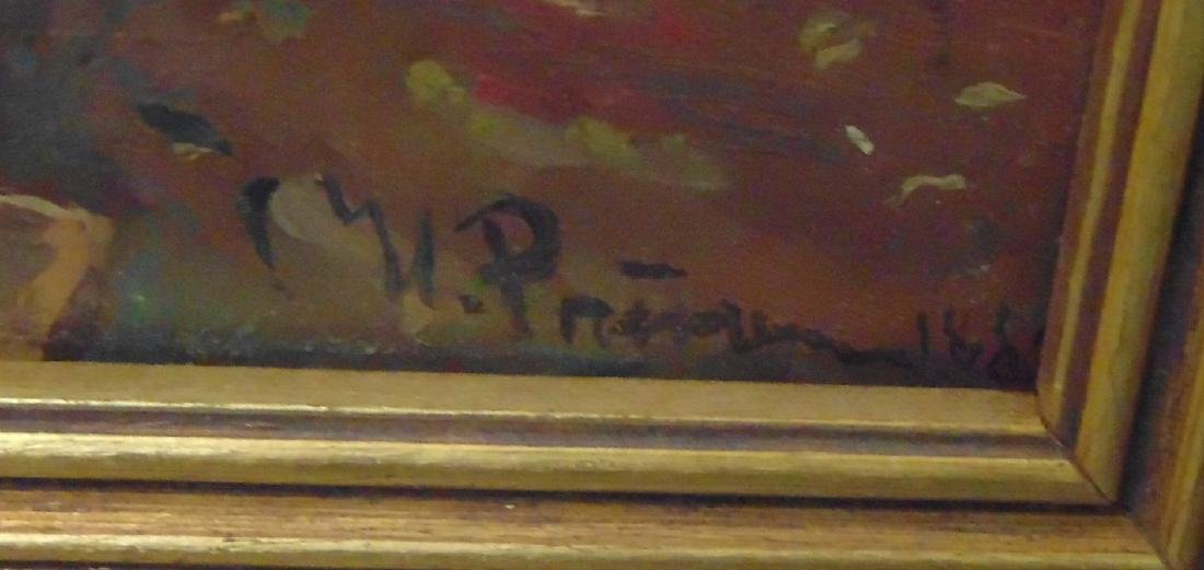 Oil on Paper, Artist Signed Russian, 1889 - 4