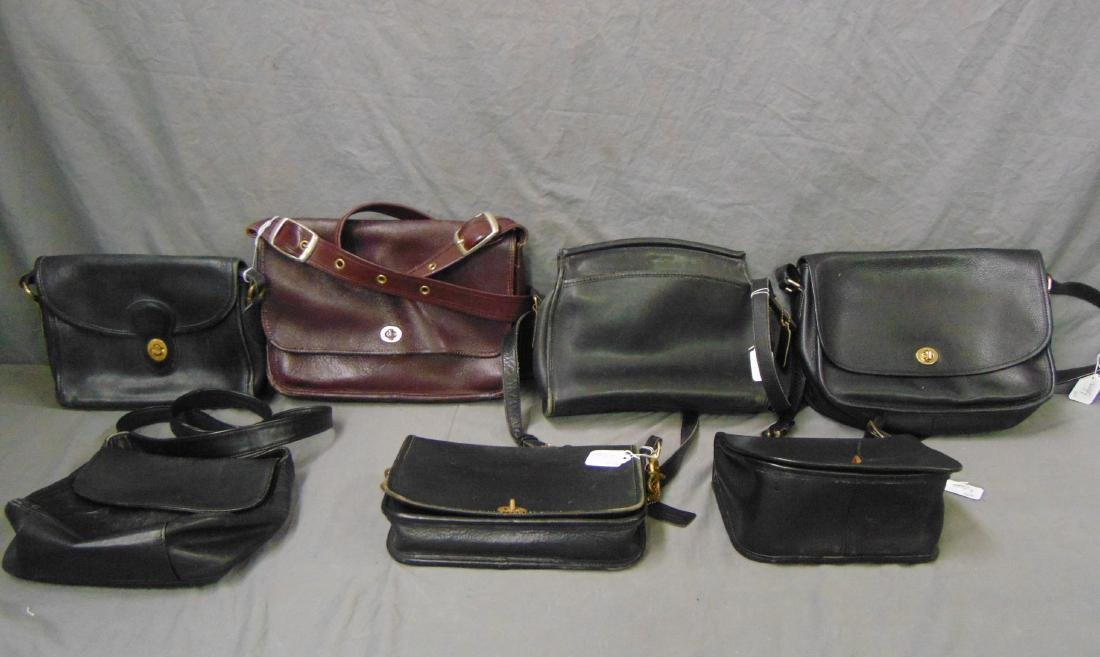Coach Bags. Lot of 7