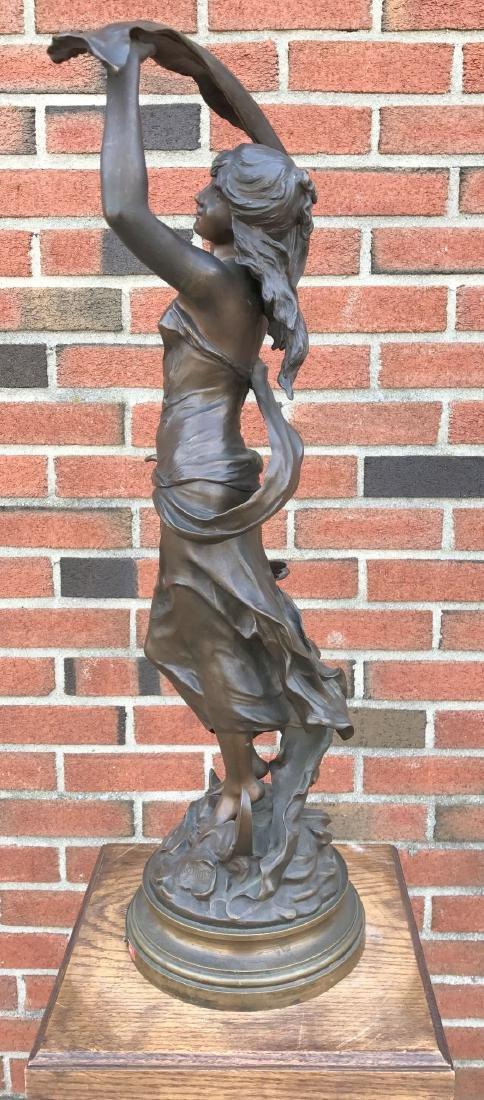 """After Auguste Moreau, """"Crepuscule"""" Bronze - 6"""