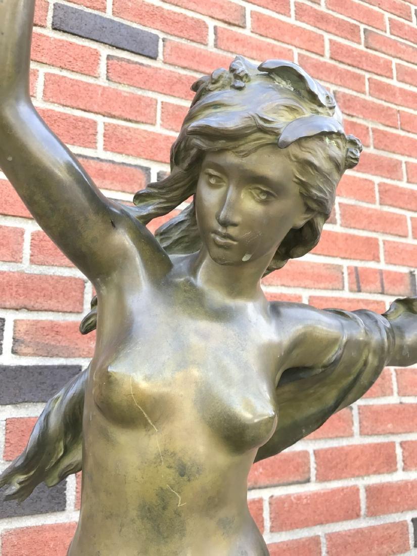 """Mathurin Moreau, """"Danseuse a La Lyre"""" Bronze - 3"""