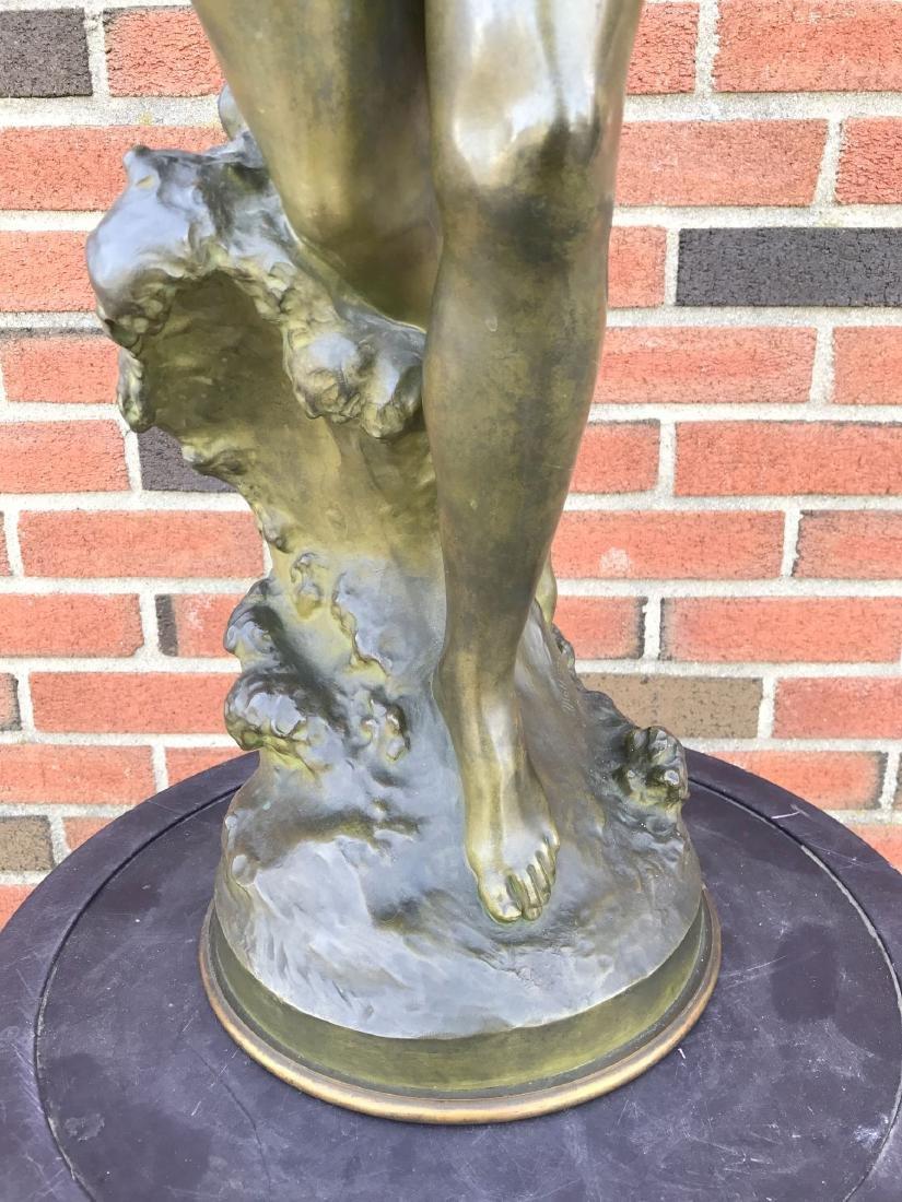 """Mathurin Moreau, """"Danseuse a La Lyre"""" Bronze - 5"""