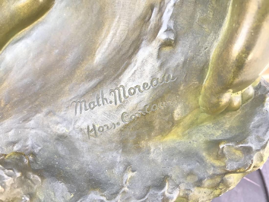 """Mathurin Moreau, """"Danseuse a La Lyre"""" Bronze - 9"""