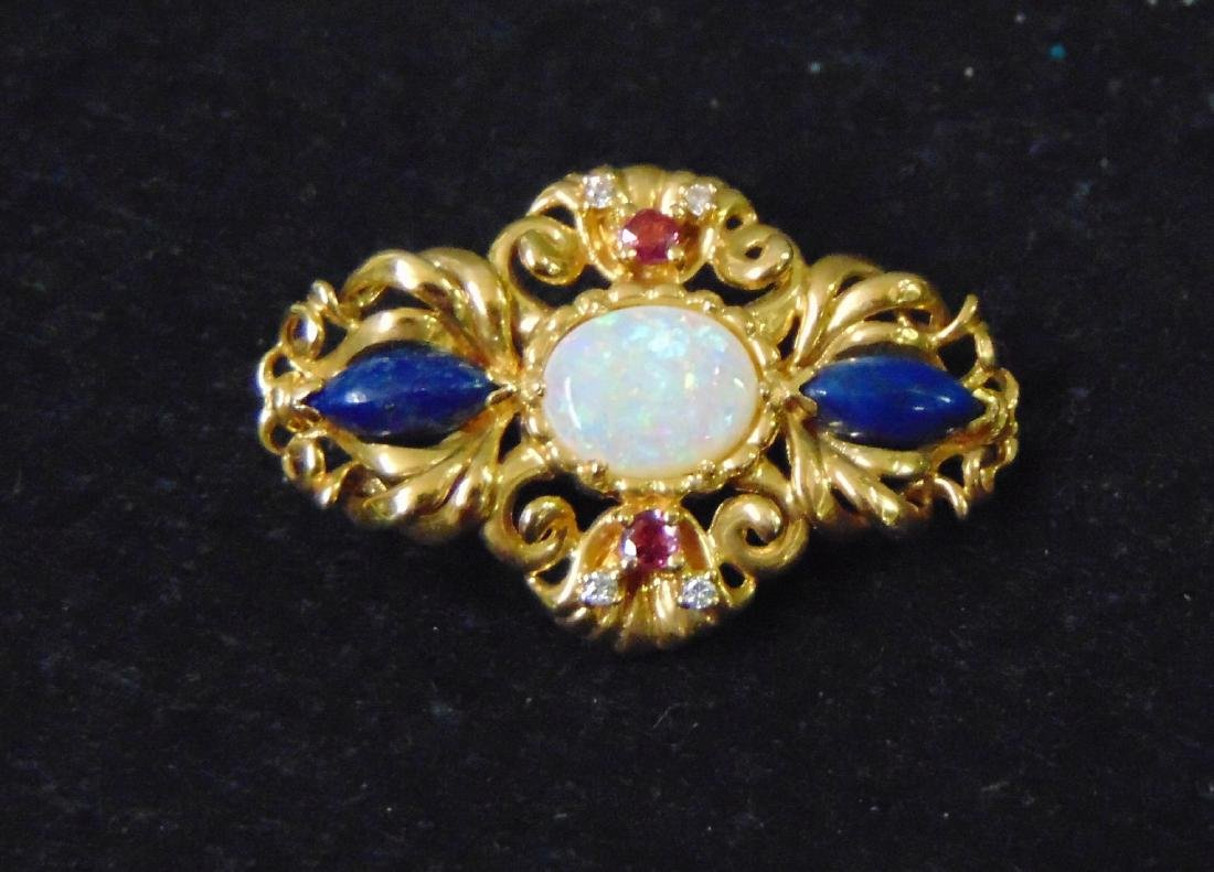 Igor Carl Faberge Sterling Coach with 18K Brooch - 6