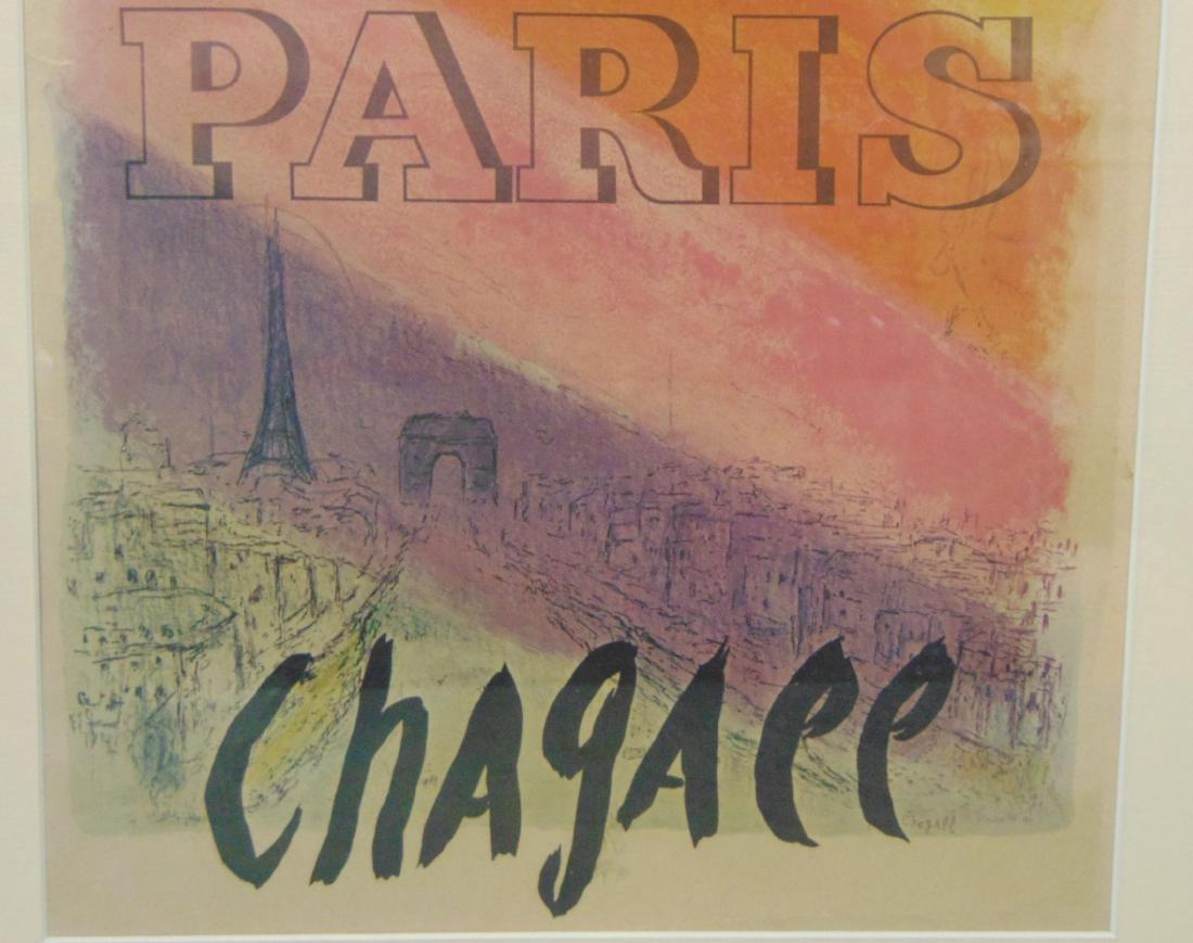 Marc Chagall, Paris, Les Champs Elysees, Poster - 3