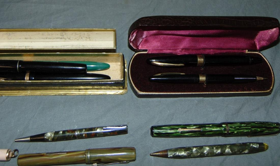 Fountain Pen and Pencil Lot. - 6