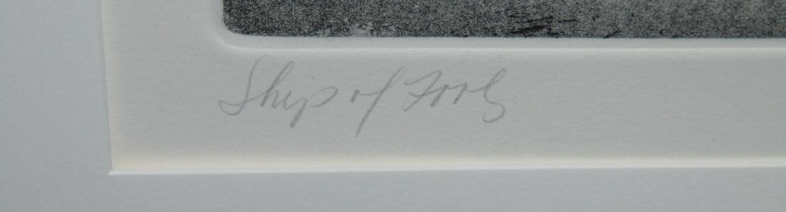 Robert Marx, Abstract Intaglio, Signed Ltd Ed - 4