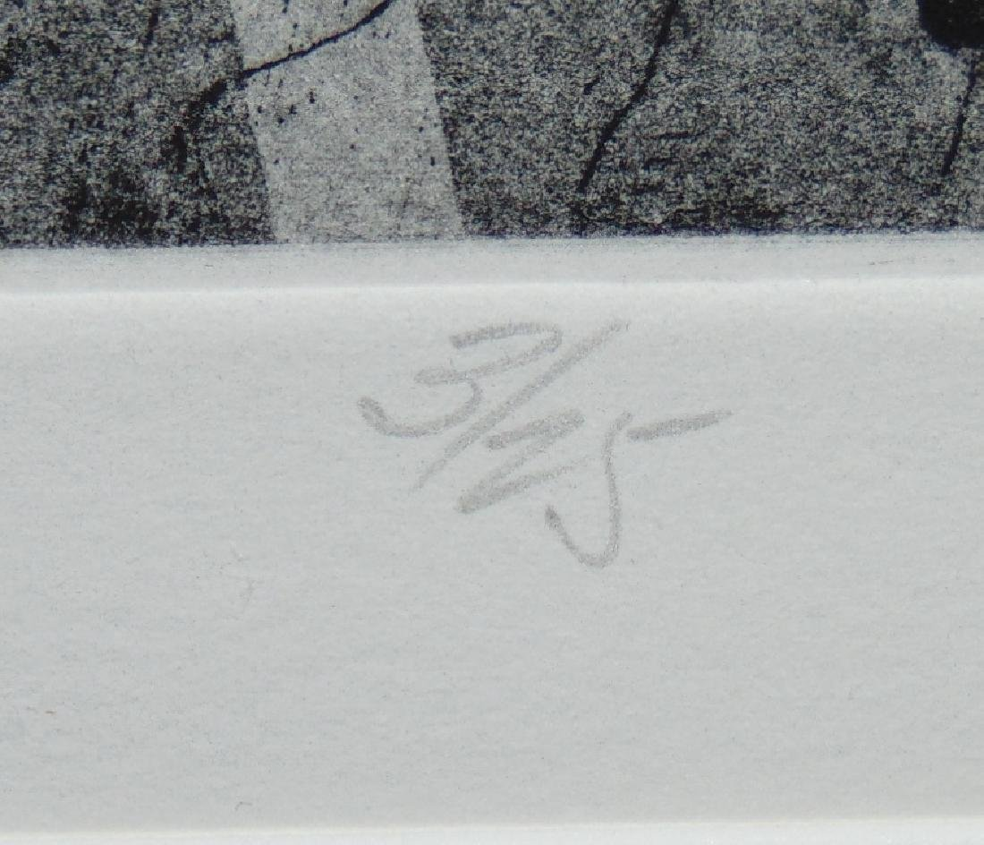 Robert Marx, Abstract Intaglio, Signed Ltd Ed - 6