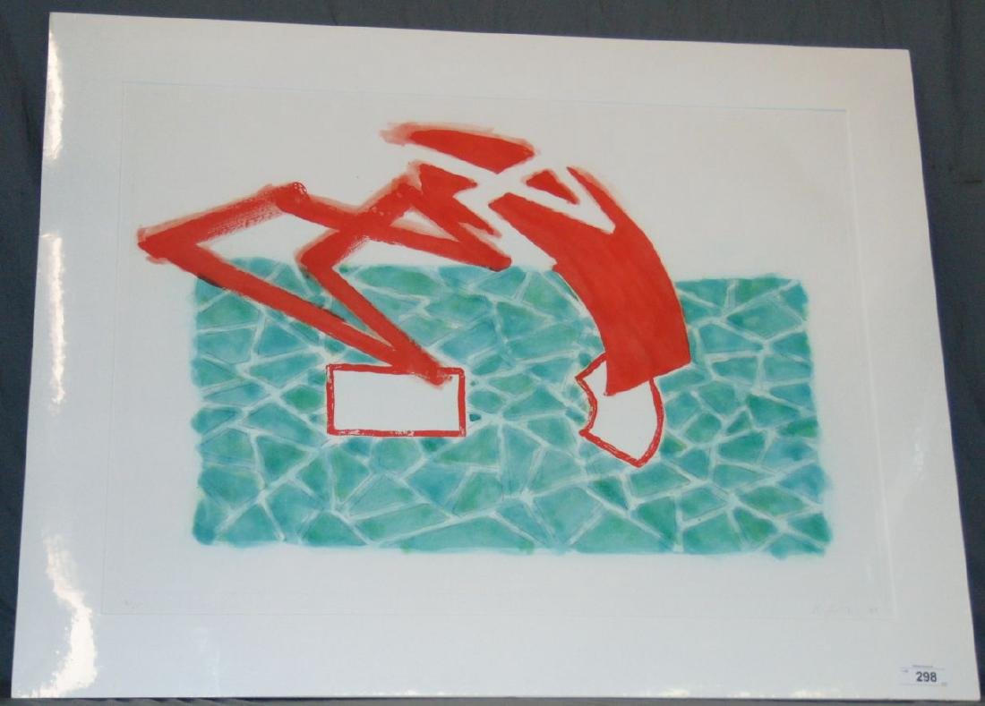 "Richard Smith, Etching Aquatint, ""Wild Life"" - 2"