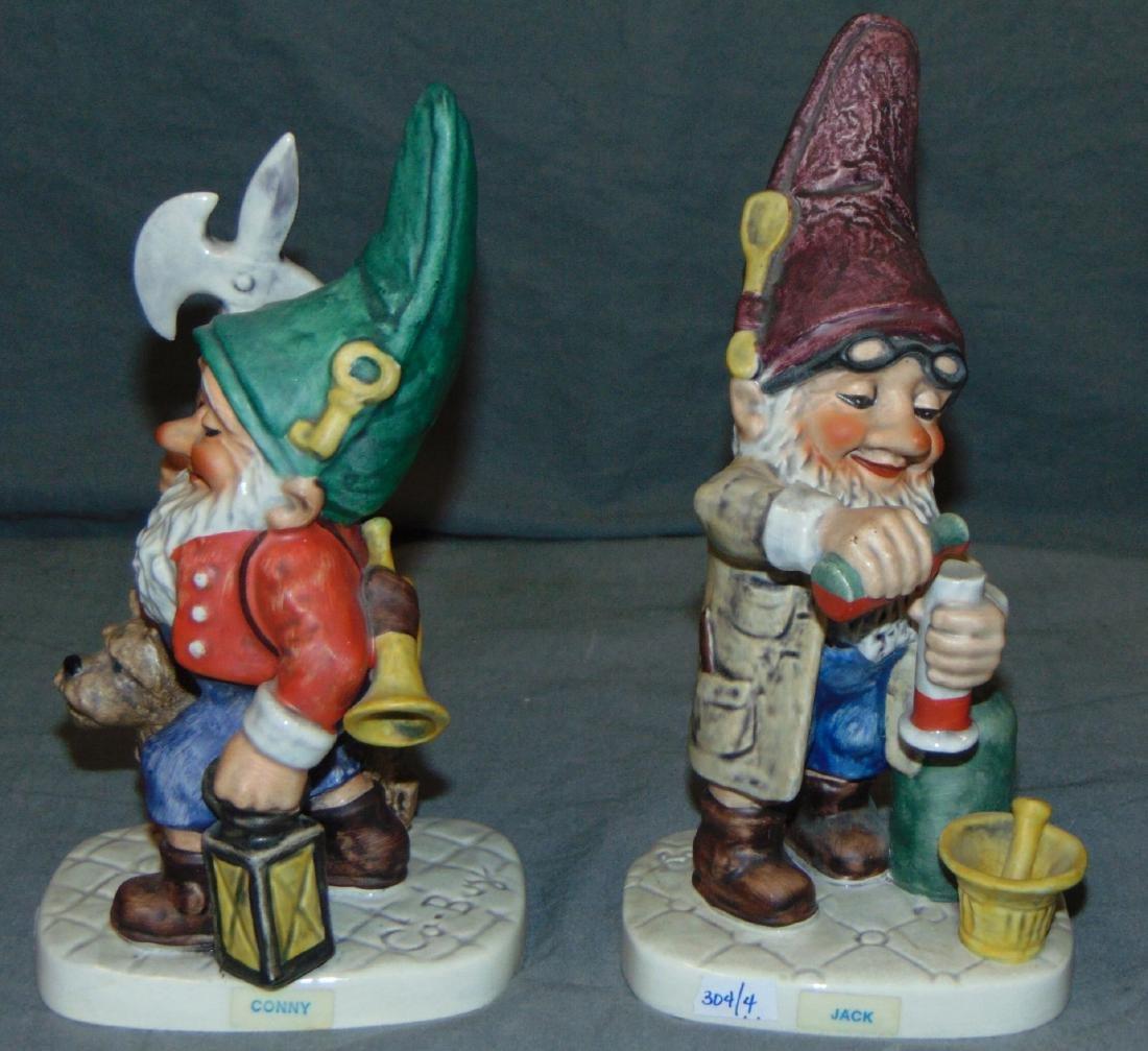 (4) Porcelain Figural. Royal Doulton / Goebel. - 2