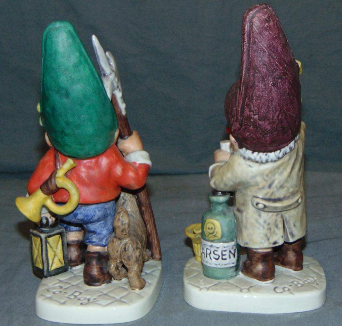 (4) Porcelain Figural. Royal Doulton / Goebel. - 3