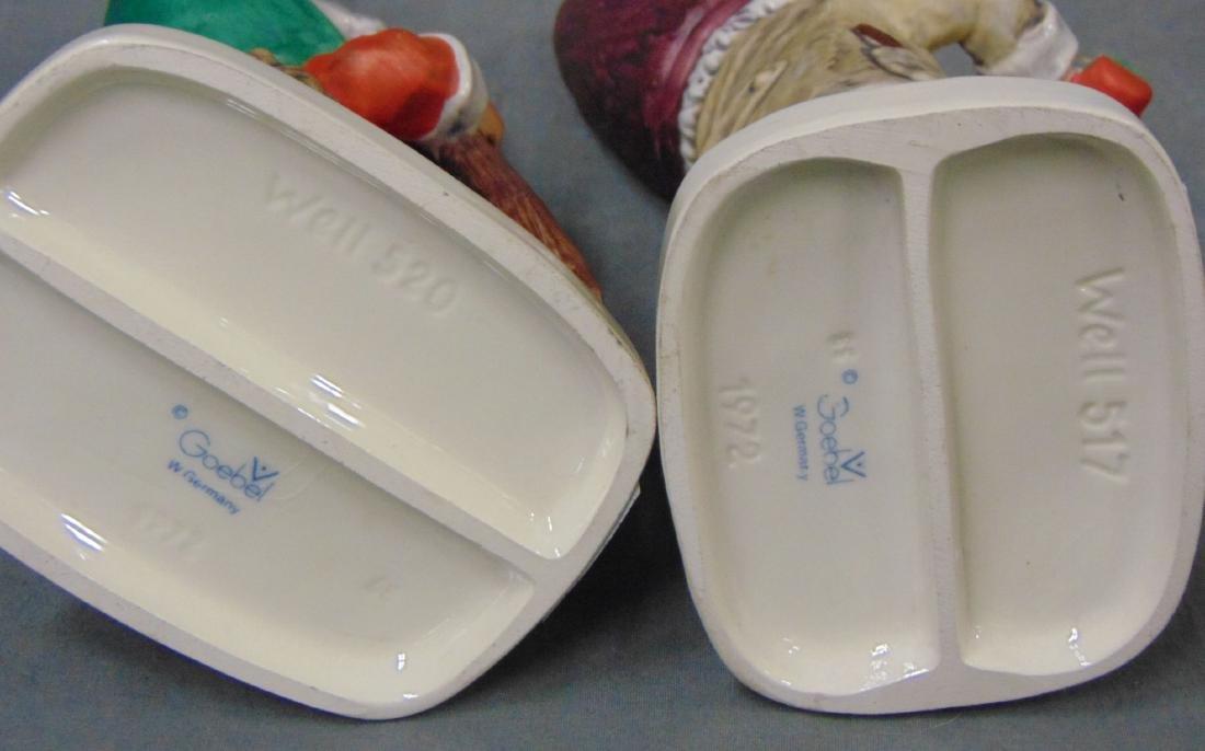 (4) Porcelain Figural. Royal Doulton / Goebel. - 4