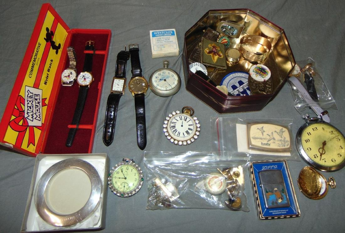 Mixed Estate Jewelry and Accessory Lot.