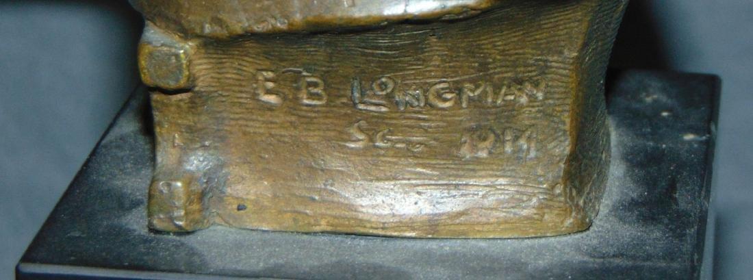 Evelyn Beatrice Longman (1874 - 1954) Bronze. - 5