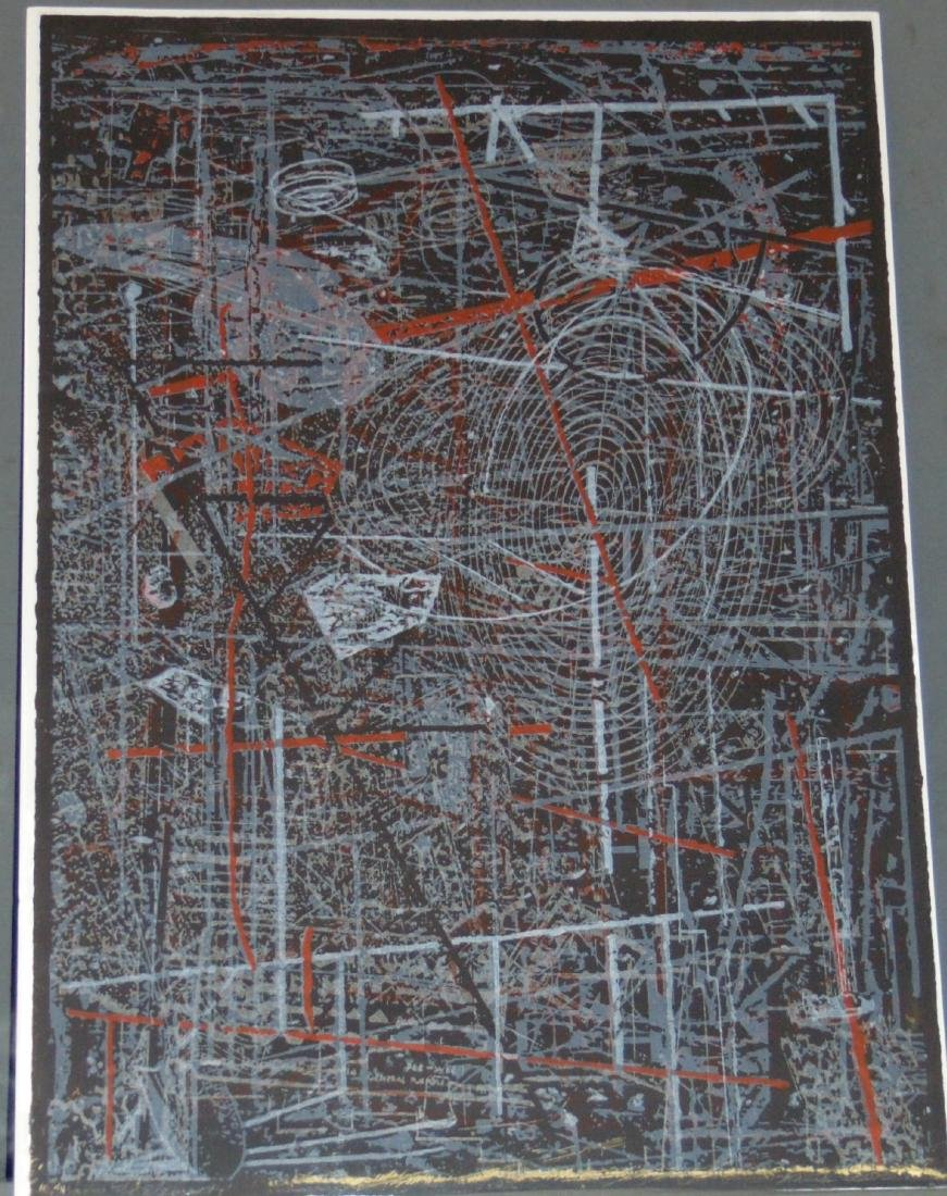 """Frank Owen, """"Know the Elements"""" Signed Litho"""