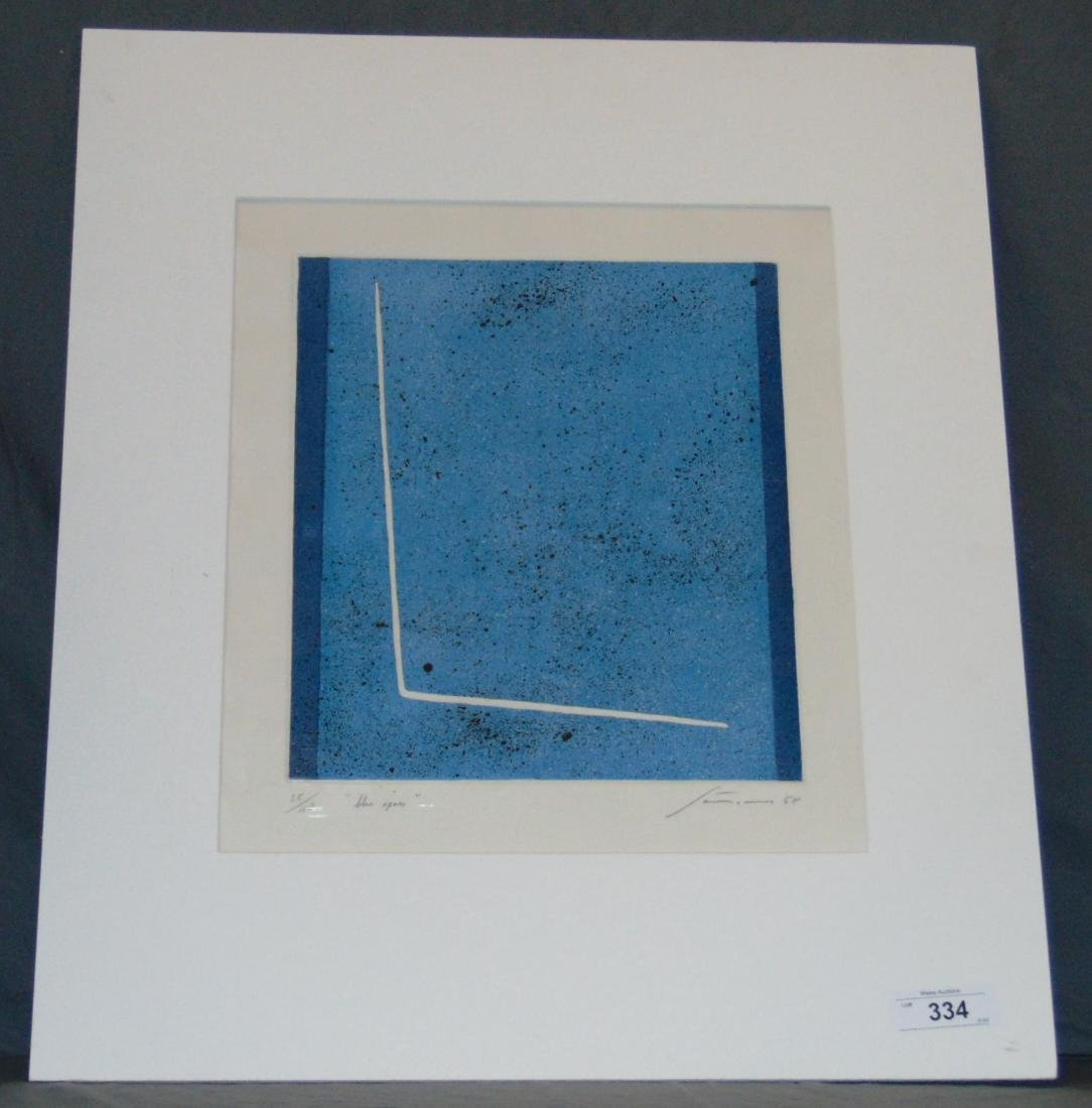 Giuseppe Santomaso, Signed Etching with Embossing - 2