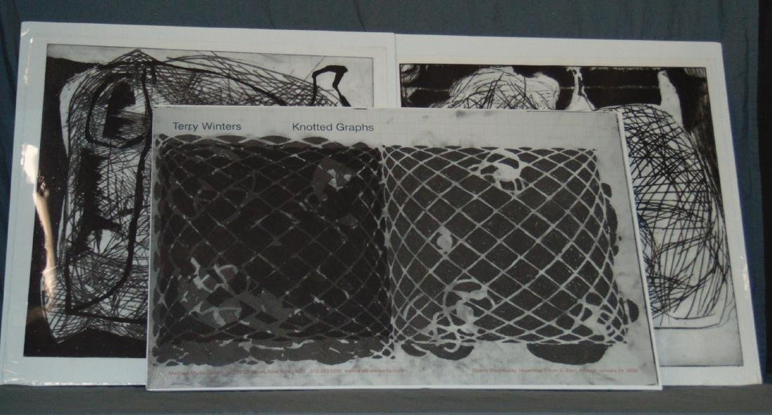 Terry Winters, Lot of 3 Poster/Prints