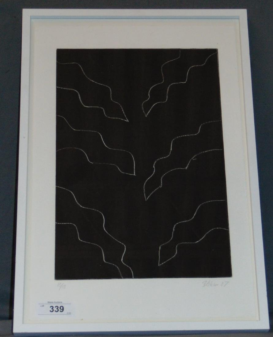 Betting Blohm, Abstract Etching, Signed - 4