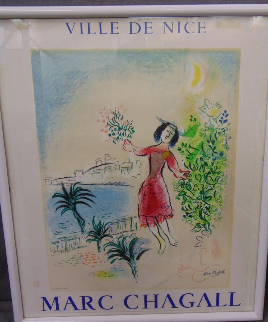 Marc Chagall, Ville De Nice Poster