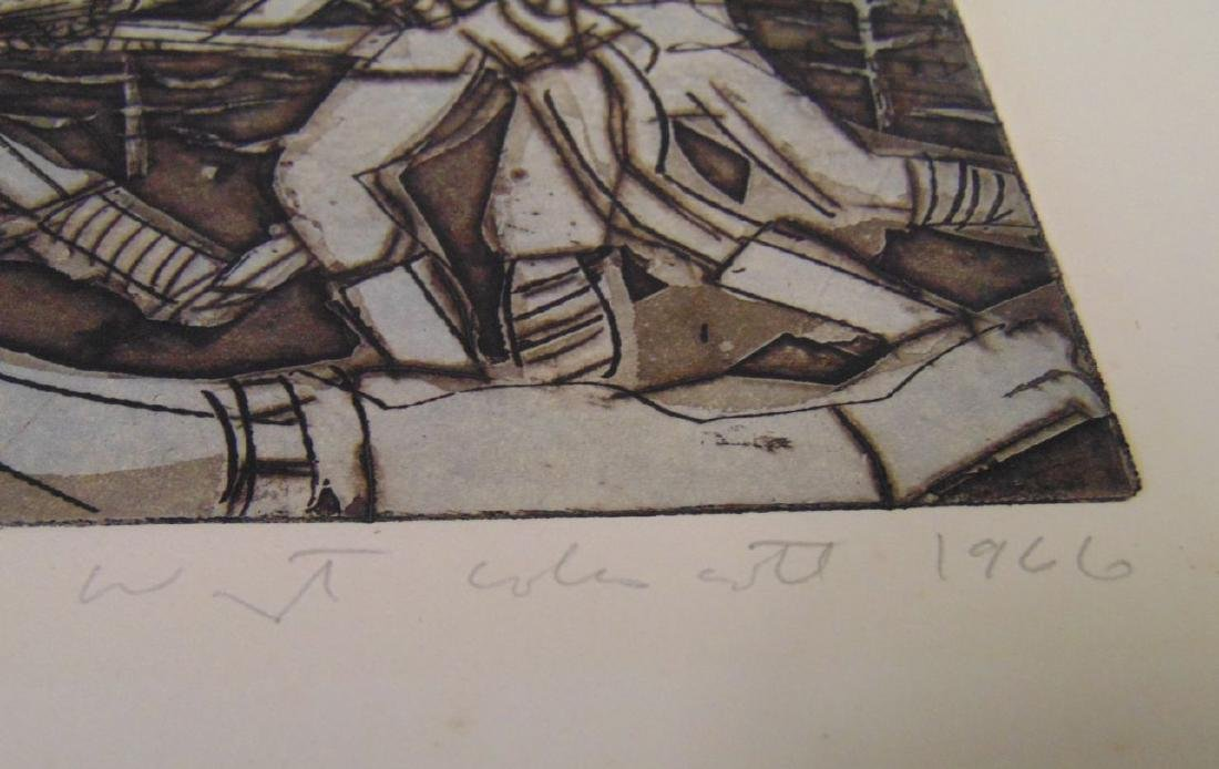 Warrington Colescott, Signed Colored Etching - 5