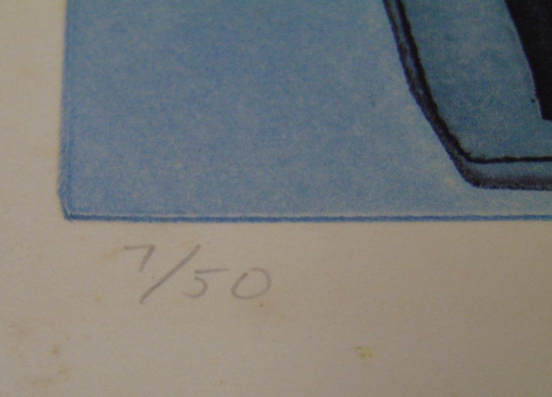 Warrington Colescott, Signed Colored Etching - 6