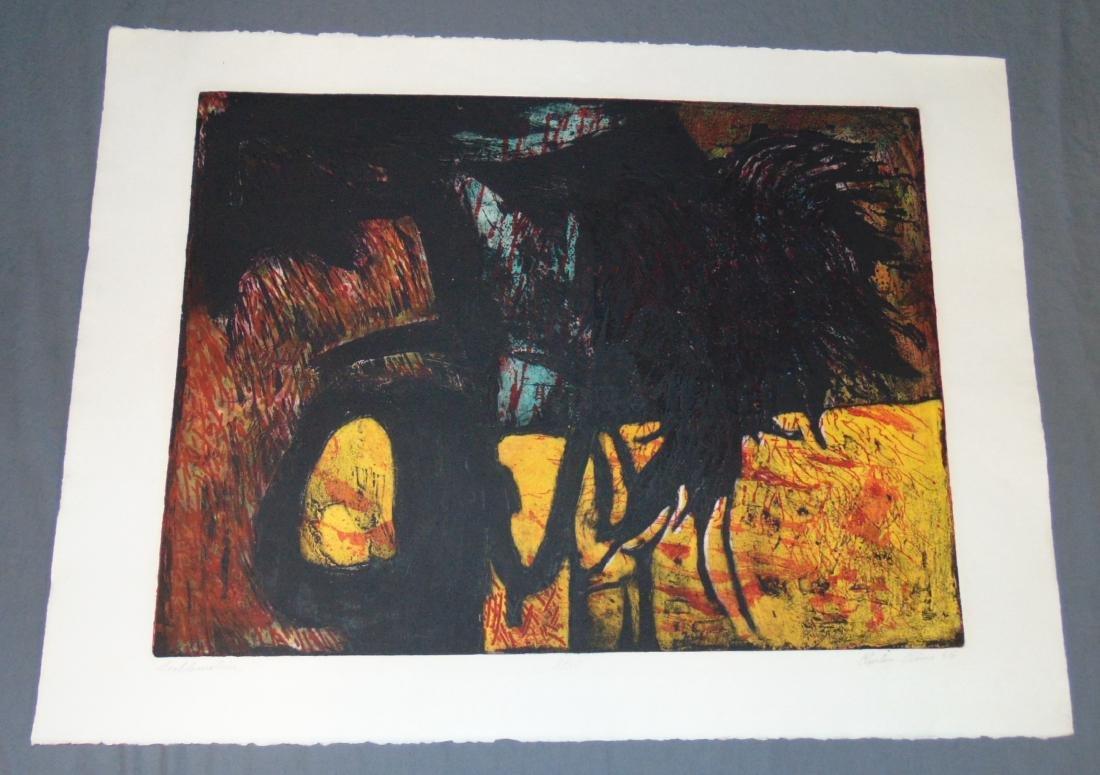 Clinton Cline, Color Etching & Aquatint, Signed - 2